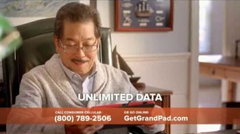 Consumer Cellular GrandPand TV Spot, 'Families are Meant to Be Close: First Month Free' - Thumbnail 7