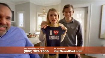 Consumer Cellular GrandPand TV Spot, 'Families are Meant to Be Close: First Month Free' - Thumbnail 9