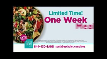 South Beach Diet Spring Break Sale TV Spot, 'Keto Friendly Meals' Featuring Jessie James Decker - Thumbnail 2