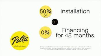 Pella TV Spot, 'Integrated Roll Screen: Installation or Financing' - Thumbnail 6