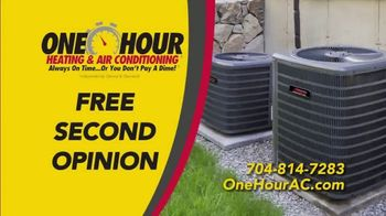 One Hour Heating & Air Conditioning TV Spot, 'Committed to Comfort: Free Second Opinion' - Thumbnail 6