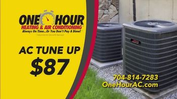 One Hour Heating & Air Conditioning TV Spot, 'AC Tune Up' - Thumbnail 7