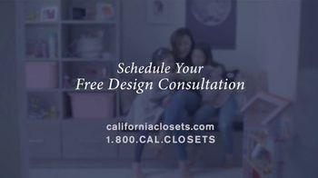 California Closets TV Spot, 'Jeanne's Story' - Thumbnail 7