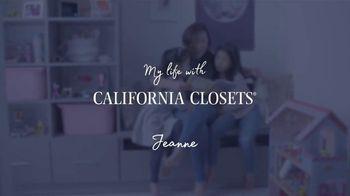 California Closets TV Spot, 'Jeanne's Story' - Thumbnail 6