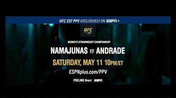 ESPN+ TV Spot, 'UFC 237: Namajunas vs. Andrade' - Thumbnail 10