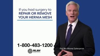 Meyer Law Firm TV Spot, 'Hernia Mesh Risks'