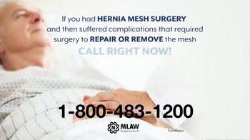Meyer Law Firm TV Spot, 'Hernia Mesh Risks' - Thumbnail 3