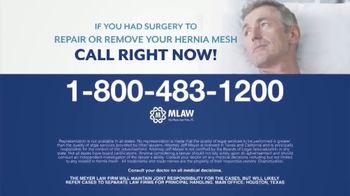 Meyer Law Firm TV Spot, 'Hernia Mesh Risks' - Thumbnail 6