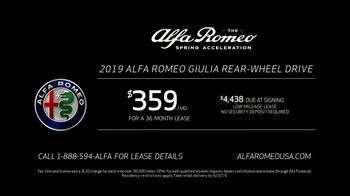 Alfa Romeo Spring Acceleration TV Spot, 'The New Sound of Joy' [T2] - Thumbnail 8