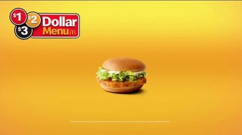 McDonald's $1 $2 $3 Dollar Menu TV Spot, 'Hot N' Spicy McChicken Sandwich: The Same' - Thumbnail 7