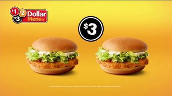 McDonald's $1 $2 $3 Dollar Menu TV Spot, 'Hot N' Spicy McChicken Sandwich: The Same' - Thumbnail 8