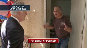 Publishers Clearing House TV Spot, 'Actual Winner: John Childress' - 164 commercial airings