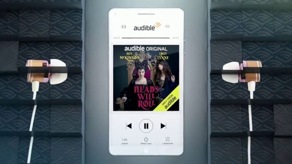 Audible Originals TV Commercial, 'Made to Be Heard'
