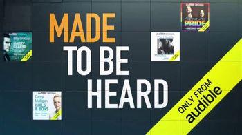 Audible Originals TV Spot, 'Made to Be Heard' - Thumbnail 6