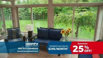 Champion Windows TV Spot, 'Dream Home: 25 Percent Off' - Thumbnail 2