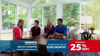 Champion Windows TV Spot, 'Dream Home: 25 Percent Off' - Thumbnail 3