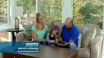 Champion Windows TV Spot, 'Dream Home: 25 Percent Off' - Thumbnail 4