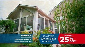 Champion Windows TV Spot, 'Dream Home: 25 Percent Off' - Thumbnail 6