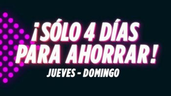 JCPenney Black Friday en Mayo TV Spot, 'Cuatro días para ahorrar' [Spanish] - Thumbnail 3