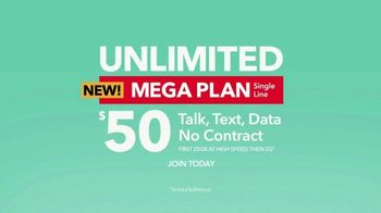 Total Wireless Unlimited Mega Plan TV Spot, 'Set Your Smartphone Free' - Thumbnail 8