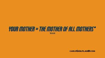 Carl's Golfland TV Spot, 'The Mother of All Mothers'