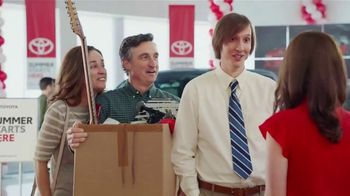 Toyota Summer Starts Here TV Spot, 'Got a Job' [T2]