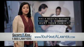 Saiontz & Kirk, P.A. TV Spot, 'Medical Mistake' - Thumbnail 2