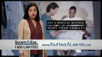 Saiontz & Kirk, P.A. TV Spot, 'Medical Mistake' - Thumbnail 5