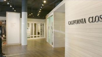 California Closets Finish Upgrade Event TV Spot, 'Exciting Colors and Accessories' - Thumbnail 1