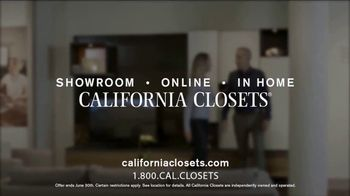 California Closets Finish Upgrade Event TV Spot, 'Exciting Colors and Accessories' - Thumbnail 10