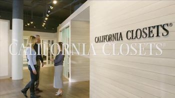 California Closets Finish Upgrade Event TV Spot, 'Exciting Colors and Accessories' - Thumbnail 2