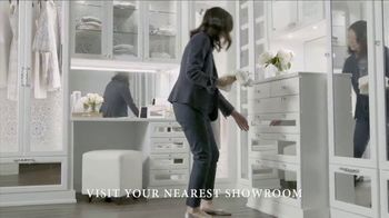 California Closets Finish Upgrade Event TV Spot, 'Exciting Colors and Accessories' - Thumbnail 4