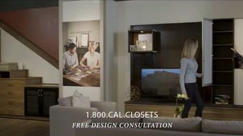 California Closets Finish Upgrade Event TV Spot, 'Exciting Colors and Accessories' - Thumbnail 9