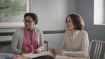 FosterMore TV Spot, 'Donate Your Small Talk: Conference Call'