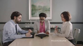 FosterMore.org TV Spot, 'Donate Your Small Talk: Conference Call' - Thumbnail 10