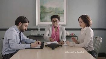 FosterMore.org TV Spot, 'Donate Your Small Talk: Conference Call' - Thumbnail 2