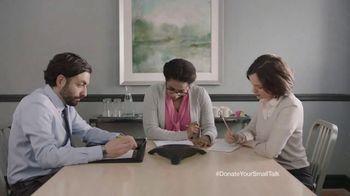 FosterMore.org TV Spot, 'Donate Your Small Talk: Conference Call'