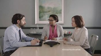 FosterMore.org TV Spot, 'Donate Your Small Talk: Conference Call' - Thumbnail 5