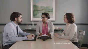 FosterMore.org TV Spot, 'Donate Your Small Talk: Conference Call' - Thumbnail 9