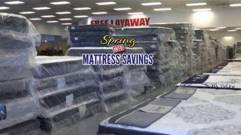 American Freight Spring Into Mattress Savings TV Spot, 'Elegance, Royal Ultra and Dream Sleep' - Thumbnail 1