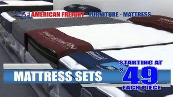 American Freight Spring Into Mattress Savings TV Spot, 'Elegance, Royal Ultra and Dream Sleep' - Thumbnail 2