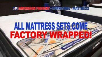 American Freight Spring Into Mattress Savings TV Spot, 'Elegance, Royal Ultra and Dream Sleep' - Thumbnail 3