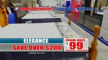 American Freight Spring Into Mattress Savings TV Spot, 'Elegance, Royal Ultra and Dream Sleep' - Thumbnail 5