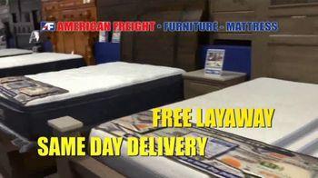 American Freight Spring Into Mattress Savings TV Spot, 'Elegance, Royal Ultra and Dream Sleep' - Thumbnail 7