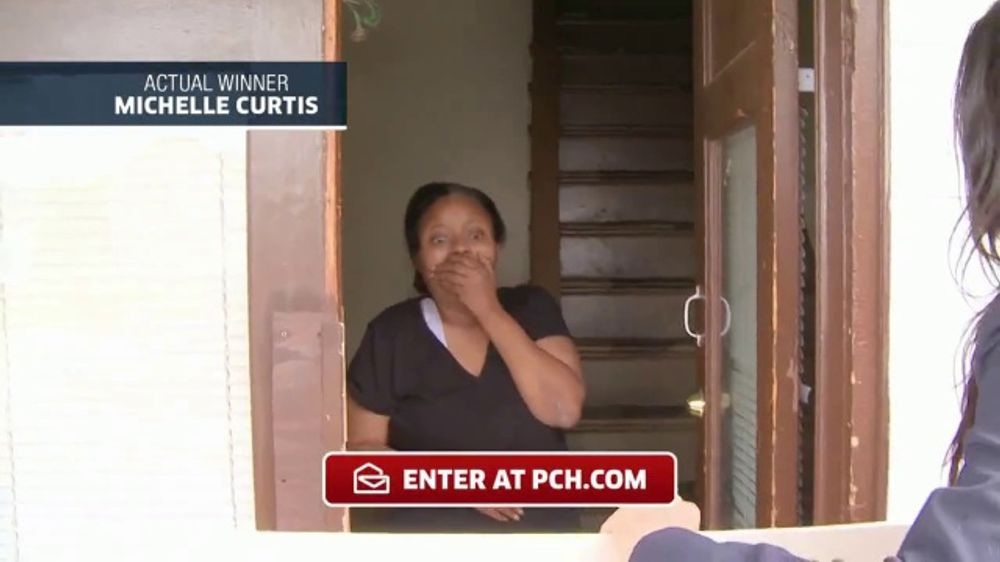 Publishers Clearing House TV Commercial, 'Actual Winner: Michelle Curtis' -  Video
