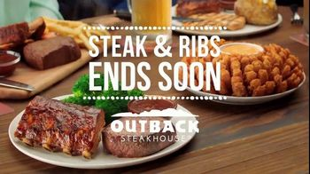 Outback Steakhouse Steak & Ribs TV Spot, 'Two Parts: Ends Soon' - Thumbnail 8