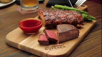 Outback Steakhouse Steak & Ribs TV Spot, 'Two Parts: Ends Soon' - Thumbnail 1