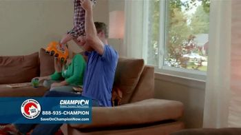 Champion Windows TV Spot, 'Comfortable Year Round: Buy One, Get One Half Off' - Thumbnail 6