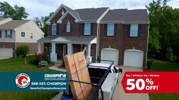 Champion Windows TV Spot, 'Comfortable Year Round: Buy One, Get One Half Off' - Thumbnail 7