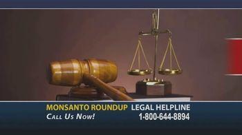 Onder Law Firm TV Spot, 'Monsanto Roundup Legal Helpline' - Thumbnail 1
